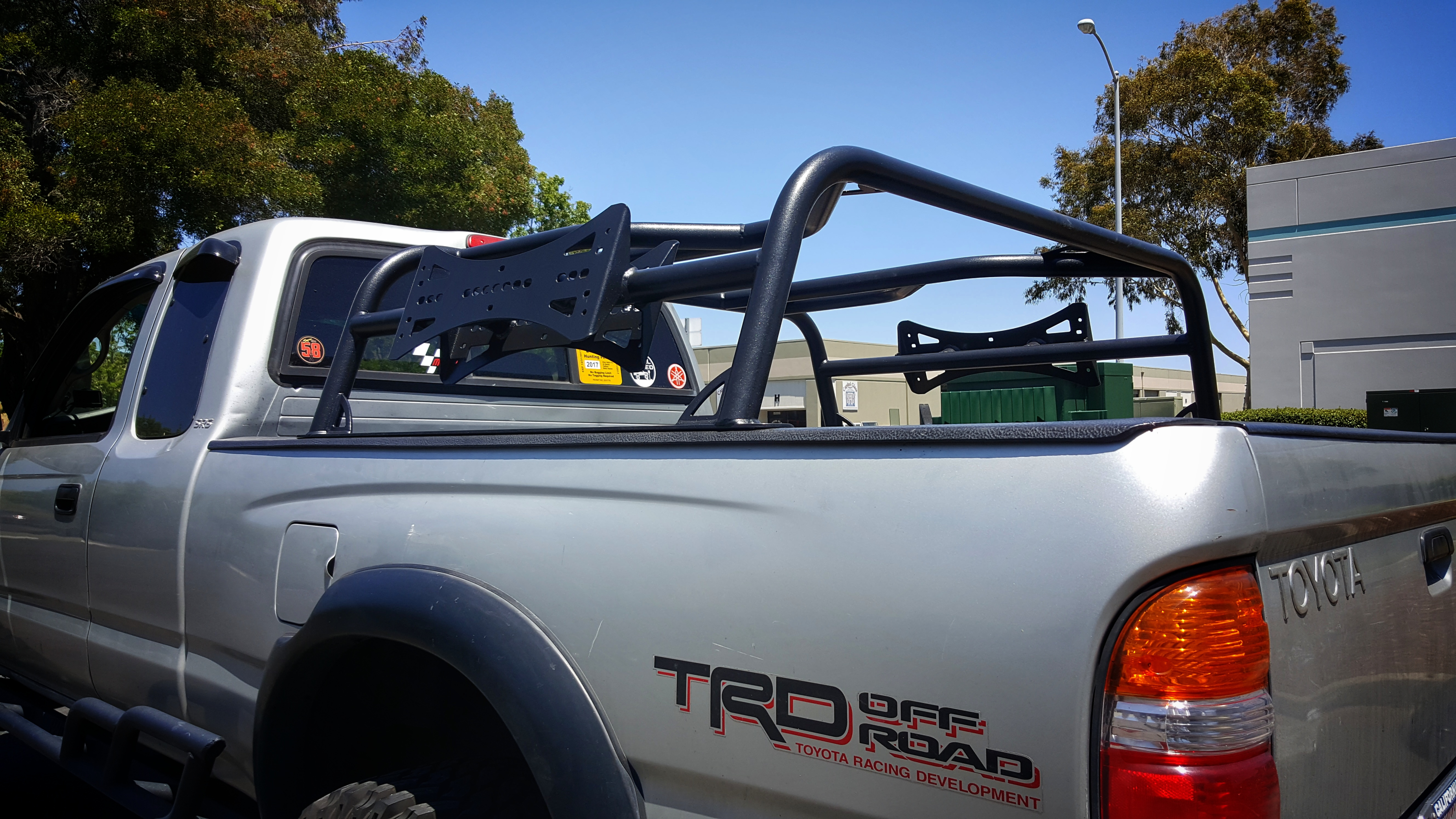 Bed Rack Tacoma >> Low Profile Rtt Bed Rack 95 To 04 Tacoma