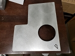 Pelfreybilt Blank mounted plate (MANUAL Trans)