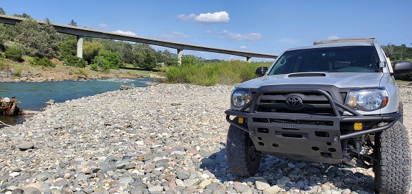 2005 to 2011 Tacoma front Hybrid bumper